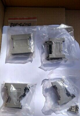 *job lot 17* D Sub Adapter Back shell Covers Grey - mixed sizes.