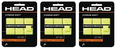 Head Xtreme Track Overgrip rot 3er Pack
