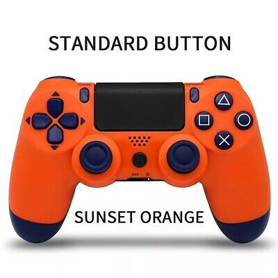 Brand New Ps4 Wireless Controller - Color Sunset Orange