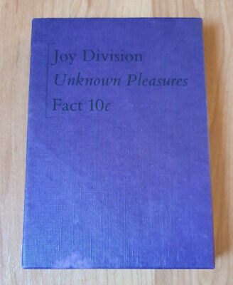 Joy Division ‎– Unknown Pleasures Fact 10c - Deluxe Cassette Package