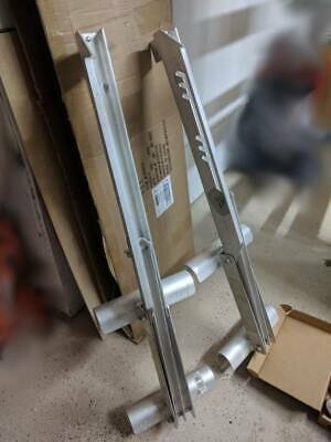 Pair of Werner 2-Rung Aluminum Ladder Jacks - Barely Used