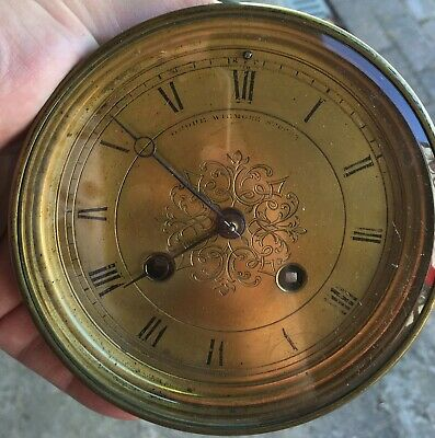 Grohe - Paris / Grohe Wigmore Street Chiming Clock Movement With Bevelled Glass