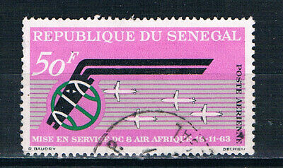 Senegal 1963 First Anniversary of Air Afrique o/FU SG 270