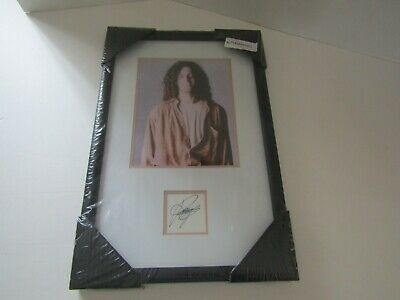 Framed Wall Art Picture Poster Signed Cut Autograph Music Kenny G Photo