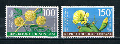 Senegal 1967 Air, Flowers **/MNH SG 355-6