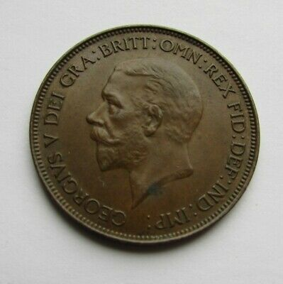 G.b. 1932 Penny, Lovely Deep Toning, Original Coin.....