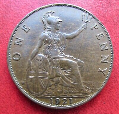 Great Britain 1921 penny,