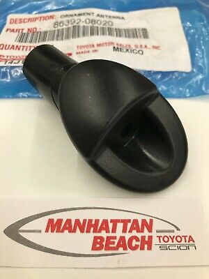 runmade for 2011 2012 2013 2014 Sienna Manual Radio Antenna Base Bezel Mounted Replacement 86392-08020