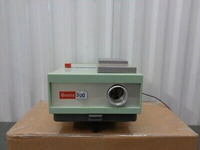 Vintage Slide Projector Model 300 From Boots