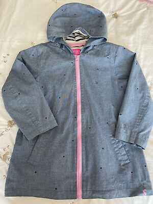 Joules Girls Summer Coat. Age 8 Years. Immaculate Condition