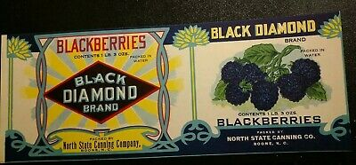 """NOS Vintage 1920's Kennesaw Mountain Brand CAN LABEL 11 1//4/""""x4 ¼/"""" GA Green Beans"""