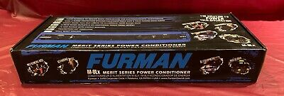 Furman M-8Lx Merit Series Power Conditioner & Surge Protector 9 Outlets 15A New