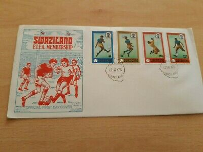 1976 Swaziland F.i.f.a Membership  First Day Cover