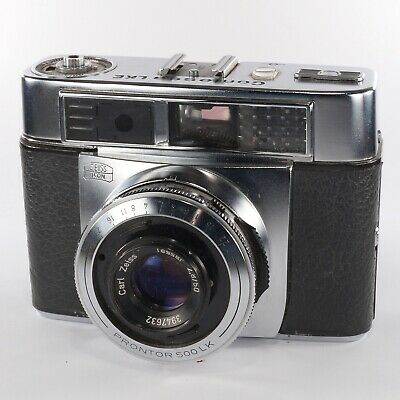 Vintage Contessa LKE Zeiss Ikon with Tessar 2.8/50 35mm Film Collectable Camera