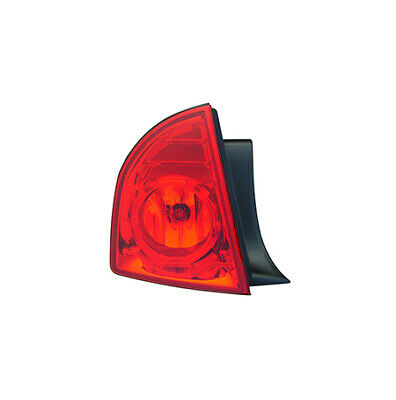 Fits 2008 - 2012   CHEVROLET MALIBU Tail Light Assembly Driver Side GM2800224