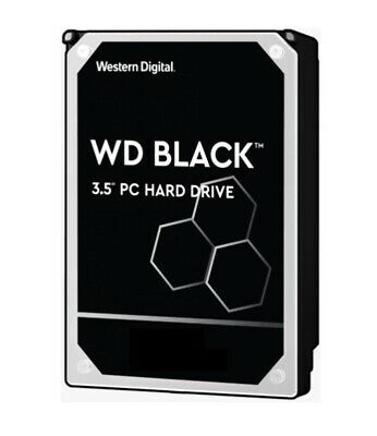 Western Digital WD Black 6TB 3.5' SATA HDD 7200RPM 6Gb/s 256MB Cache Hard Drive