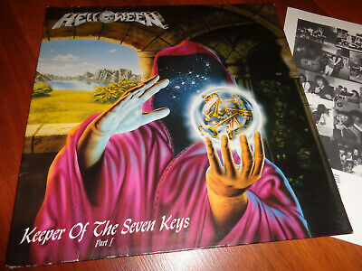 Helloween – Keeper Of The Seven Keys (Part I)..org,1987..Noise,first press!!!
