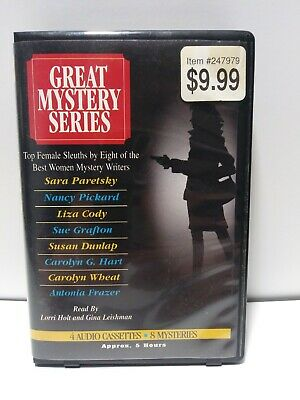 GREAT MYSTERY SERIES--5 COMPACT DISCS  Top Female Sleuths  ( AUDIO BOOKS)