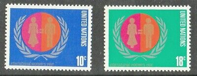 Postage Stamps United Nations Unmounted Mint/MNH Complete Set of 2