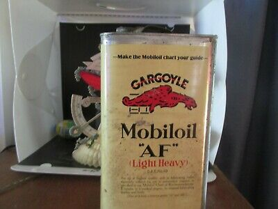 Rare 1930,S Gargoyle Oil 1 Gallon Sea 40 New Old Stock Oil Can