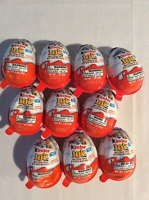 Lot Of 10 Kinder Joy Star Wars Chocolate Egg Surprise New & Sealed Mystery Eggs