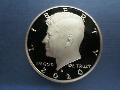 2020 S Kennedy Clad Half Dollar Perfect CAMEO Proof.