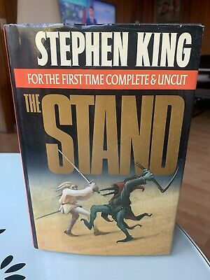 The Stand Stephen King Complete Uncut Hardcover Book 1990 NO BARCODE