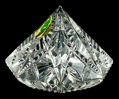 Waterford Crystal LISMORE Diamond Shape Paperweight