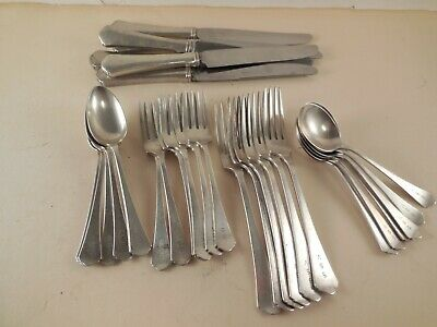 RWS Wallace Sterling Silver flatware,  30 pieces 6- 5 place settings