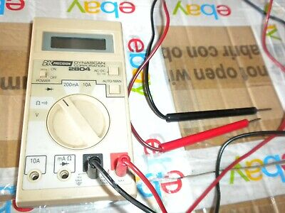 BK precision 2804 ohm meter used working condition