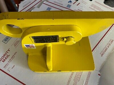 """Safety Clamps, Inc. Model HL 3 Ton Capacity 0-2"""" Opening"""