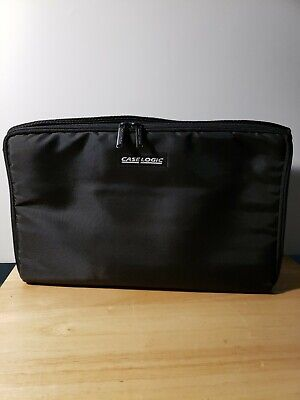 Case Logic 30 36 Cassette Tape Storage Holder Carrying Case Holder w/ Strap