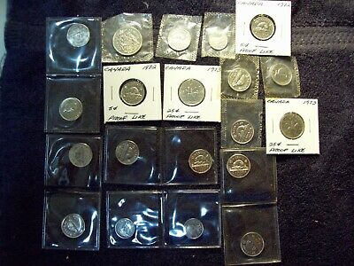 Lot Of 20 Canada Proof Like Coins