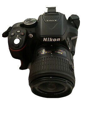 Nikon D5300 DSLR Camera +18-55mm Zoom Lens kit + 3 Batteries & 2 Chargers