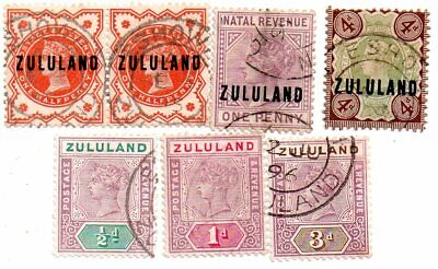 commonwealth stamps, zululand