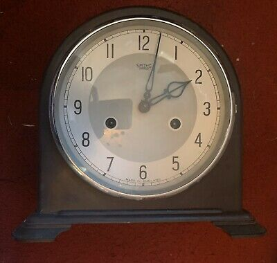 Smiths Bakelite 8 Day Chiming  Mantle Clock