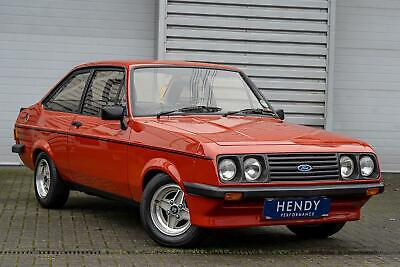 1980 Ford ESCORT RS CUSTOM RS2000 MK2 Immaculate, Timewarp Condition, Stacks Of