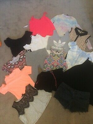 Girls summer clothes bundle age 12-13, Top Shop, River Island, New Look, Adidas