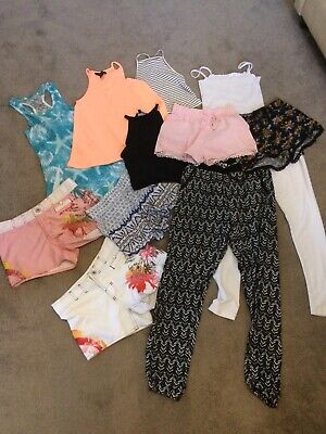 Girls summer clothes bundle age 11-12 years Tu, O'Neill, H&M, New Look