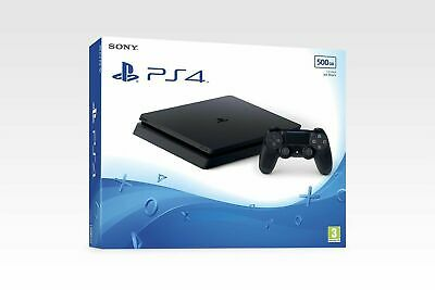 New Sony Playstation 4 PS4 Slim 500GB Black UK PAL Latest Version