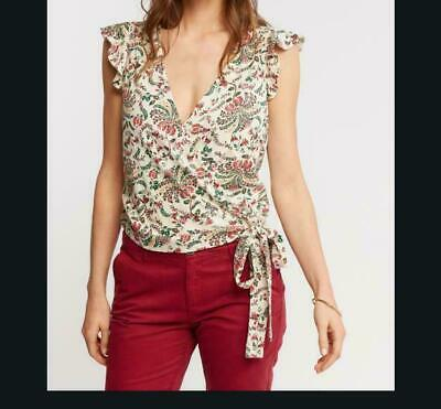 Ex FAT FACE KITTY FLORAL BLOUSE  RRP £24.99 NOW £12.99 3.99 Delivery! B143