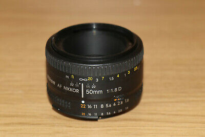 Nikon  50mm f/1.8D Auto Focus Nikkor Lens  THE NIFTY FIFTY    #22