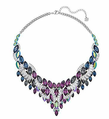 NIB $399 Swarovski Cosmic Large Statement Necklace #5217160
