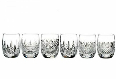 Lismore Connoisseur Heritage 6.4oz Rounded Tumbler Set of 6 New # 40023667