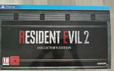 Resident Evil 2 Remake Collector's Edition (Sony PlayStation 4, PS4) - NEU !!