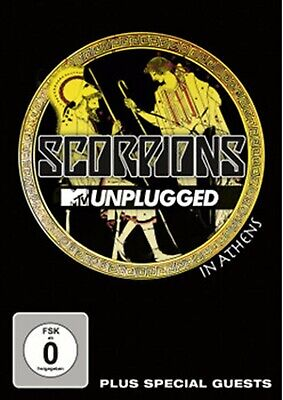 DVD Scorpions - MTV Unplugged In Athens