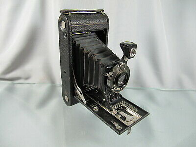 Antique Folding No. 2C Autographic Kodak Junior Camera w/ Stylus, Vintage