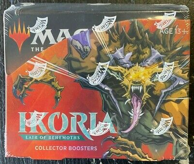 Mtg Magic The Gathering Ikoria Lair Of Behemoths Collector Booster Sealed Box