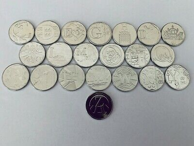 2018 GREAT BRITISH COIN HUNT A-Z COINS ALPHABET A Z 10p direct from ROYAL MINT