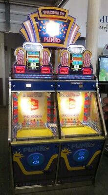 PRICE IS RIGHT PLINKO ICE COIN PUSHER  TICKET  REDEMPTION Shipping Avail